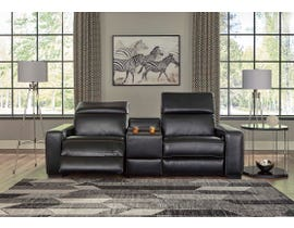 Signature Design by Ashley Mantoya Series 3pc Sectional in Midnight 46303-58-57-62