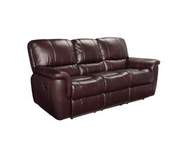 Sofa by Fancy Rockwood Leather Sofa in Garda Barun Brown 4708