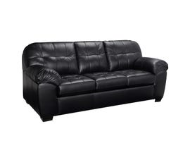 Sofa by Fancy Havana Leather-Air Sofa in Dakota Black 4800