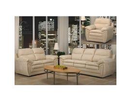 Sofa by Fancy Kelsea 3-Piece Fabric Living Room set in oatmeal beige 5001