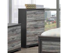 Modern Furniture Chest in Suede Grey 5020