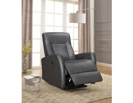 Amalfi Letty Series Power Recliner w/USB in Grey 5074