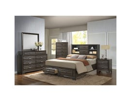 Lifestyle Antique 6-piece King bedroom set in grey C5236A