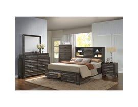Lifestyle Antique 6-piece Queen Bedroom Set in Grey C5236A