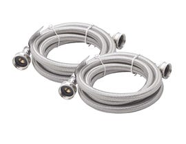 Frigidaire Smart Choice 6' Stainless Steel Drain Hose Set- (5308816562)