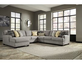 Signature Design by Ashley Cresson Series LAF Corner Chaise Sectional in Pewter 54907