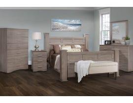 Modern Furniture Engineered Wood Bedroom Set 5500