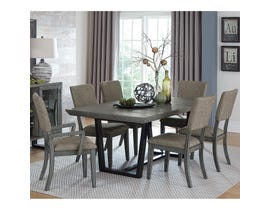 Homelegance Avenhorn Collection 7 piece dining room set in grey 5569-78