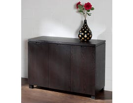 Chateau Imports Rubber Wood Buffet Server in Espresso 55SB