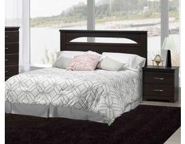 Modern Furniture MDF 4-Piece Queen Bedroom Set in Dark Oak 5602
