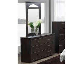 Modern Furniture MDF Dresser in Dark Oak 5602