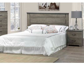 Modern Furniture MDF 4pc Queen Bedroom Set in Market Oak 5650