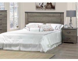 Modern Furniture 4 PC MDF Queen Bedroom Set in Market Oak 5650