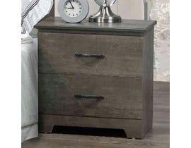 Modern Furniture MDF Nightstand in Market Oak 5650N