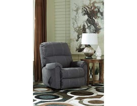 Signature Design by Ashley Urbino Collection Recliner in Charcoal 5720125
