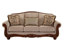 Signature Design by Ashley Cecilyn Series Fabric Sofa in Cocoa Grey 5760338