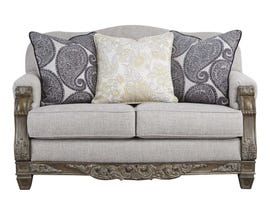 Signature Design by Ashley Sylewood Series Loveseat in Slate 5770135