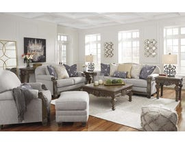 Signature Design by Ashley Sylewood Series Sofa Set in Slate 5770120-35-38