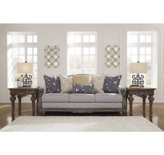 Signature Design by Ashley Sylewood Series Sofa in Slate 5770138