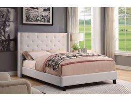 M.A.Z. Furniture Fabric Queen Bed in Beige 5830