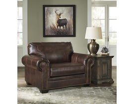 Signature Design by Ashley Roleson Series Leather Chair in Walnut 5870223