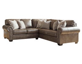 Signature Design by Ashley Roleson Series 2Pc RAF Sofa Sectional in Quarry 58703