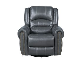Fresh Leather Air Recliner in Grey 6019c