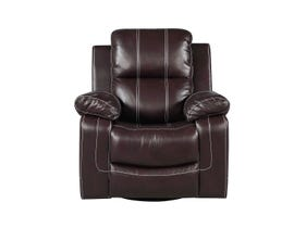 Fresh Leather Air Recliner in Brown 6020