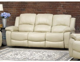 Brassex Boris Recliner Sofa with Fold-Down Tray in Beige 6060-S-BEI