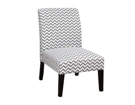 K LIVING Sharon Accent Chair in Grey 608237-GR