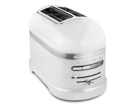 KitchenAid Pro Line® Series 2-Slice Automatic Toaster in Frosted Pearl KMT2203FP-White