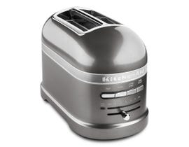KitchenAid Pro Line® Series 2-Slice Automatic Toaster in Medallion Silver KMT2203MS-Silver