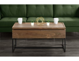 Primo Lift-Top Coffee Table in Light Brown 6325