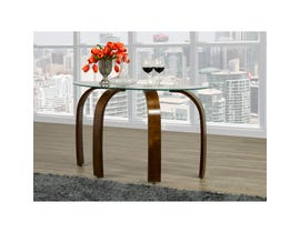 Brassex Teagan Sofa Table Espresso 648-08