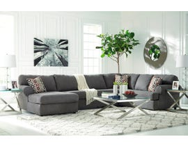 Signature Design by Ashely Jayceon Series LAF Chaise Sectional Set in steel 6490216-67-34