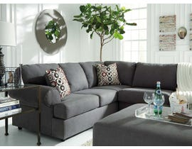 Signature Design by Ashley 3pc Sectional with Ottoman in Steel 64902S3