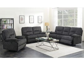 K-Living Maryland Fabric Power Recliner Sofa Set with 5 USB OUTLETS  in Grey 6500
