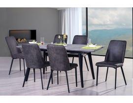 Mazin Furniture Sheldon Collection 7-Piece Dinette 6828