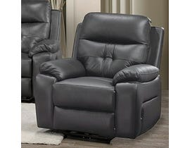 Addison Collection Power Reclining Chair in Grey 6991
