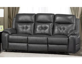 Addison Collection Power Reclining Sofa in Grey 6991