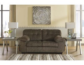 Signature Design by Ashley Fabric Loveseat in Earth 7050835