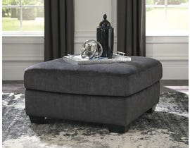 Signature Design by Ashley Accrington Series Oversized Accent Ottoman in Granite 7050908