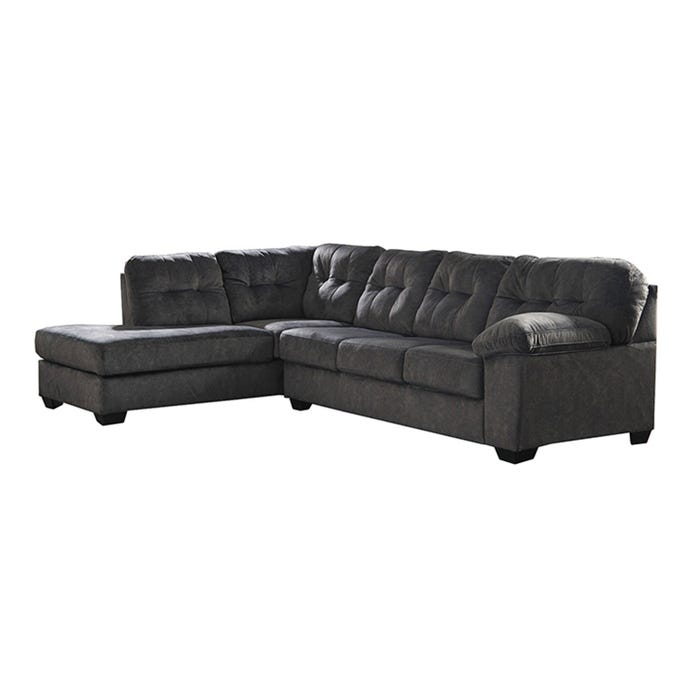 Signature Design by Ashley 2-Piece Sectional in granite grey 70509S1