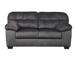 Signature Design by Ashley Accrington Series Fabric Loveseat in Granite 7050935