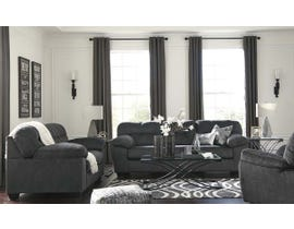 Signature Design by Ashley Accrington Series 3pc Fabric Sofa Set in Granite 7050925-35-38