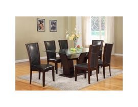 Brassex Ambrose 7-piece Dining Set Espresso 7154-72-SET