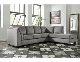Signature Design by Ashley Belcastel Series RAF Corner Chaise Sectional in Ash 72305