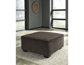 Signature Design by Ashley Jinllingsly Series Oversized Accent Ottoman in Chocolate 7250108