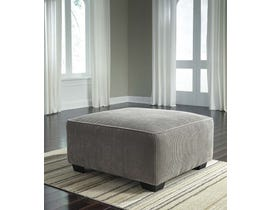 Signature Design by Ashley Jinllingsly Series Oversized Accent Ottoman in Gray 7250208