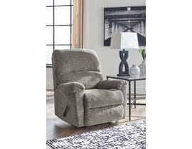 Signature Design by Ashley Fabric Reclining Chair in Granite 72706